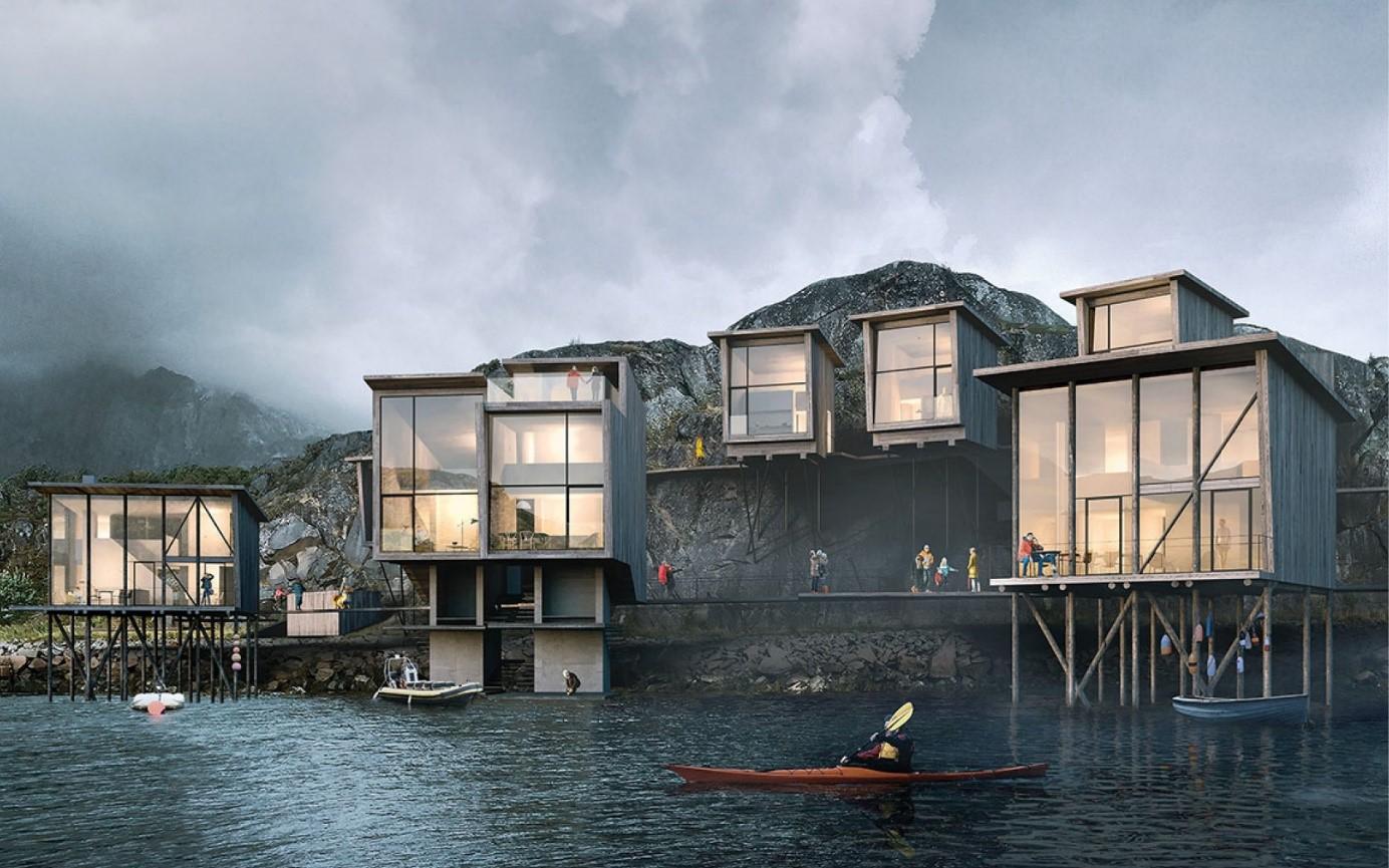 Ørnesvika Lofoten prosjekt av Vill Energi